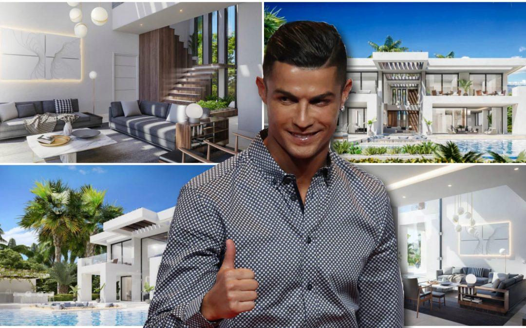 Ronaldo bought a villa close to Estepona